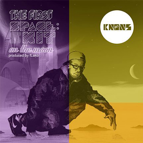 Cover art for The First Spaceshit on the Moon by fLako and Kit Knows