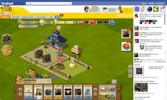 Facebook Fires Back at Google+ With New Gaming Features