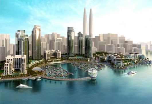 Dubai To Set Record For The World's Tallest Twin Towers