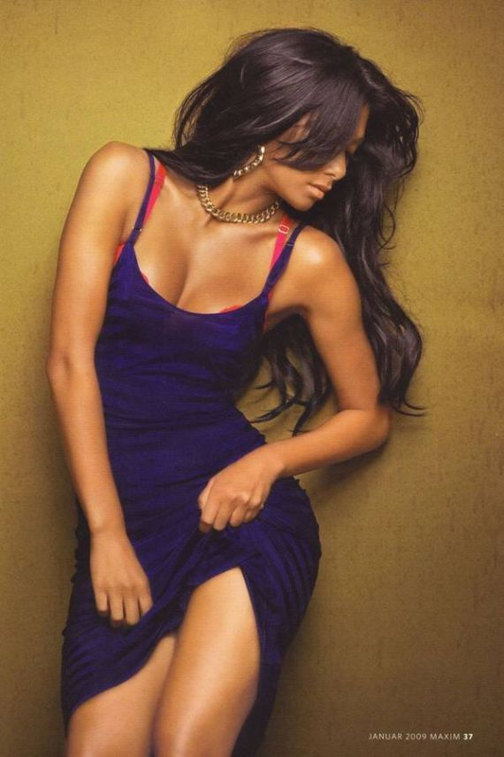 Nicole Scherzinger for Maxim Germany