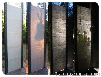 Amazing Transparent Concrete Architecture
