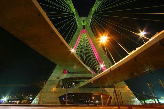 The X-shaped Bridge In Brazil