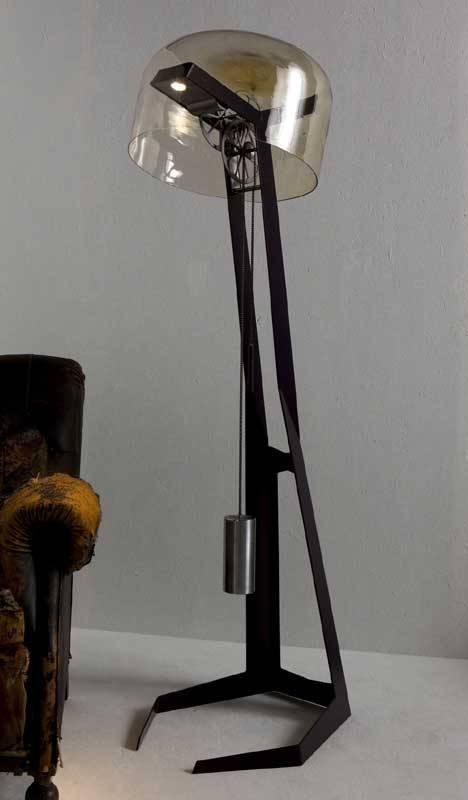 First Light Powers Itself via a Hanging Weight