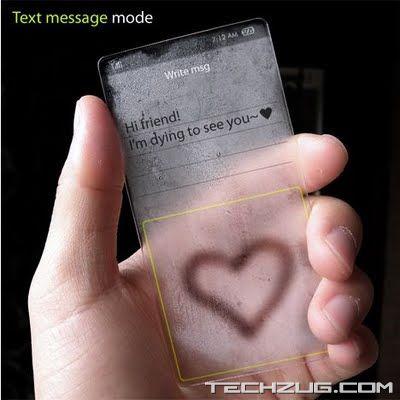 Transparent Windows Concept Phone