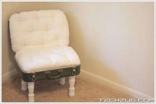 Creative Old Garbage Furniture