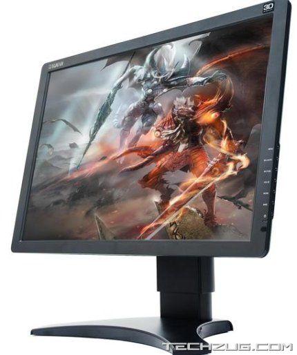 Amazing 3D Zalman Monitor