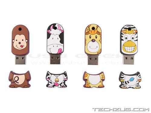 Funny USB Hub and Thumb Drives