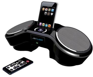 AVLabs iPod Dock Alarm Clock