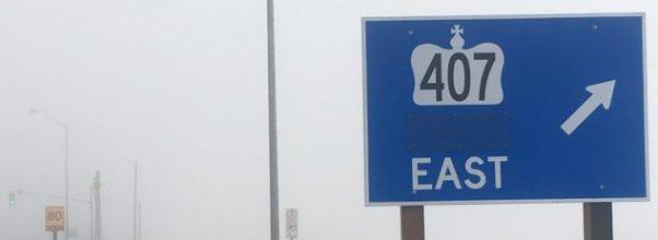 407 extension tolls