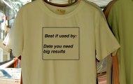 Use by tshirt
