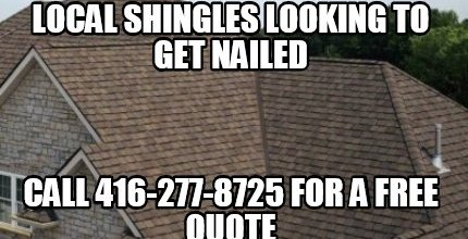 Local Shingles looking to get nailed