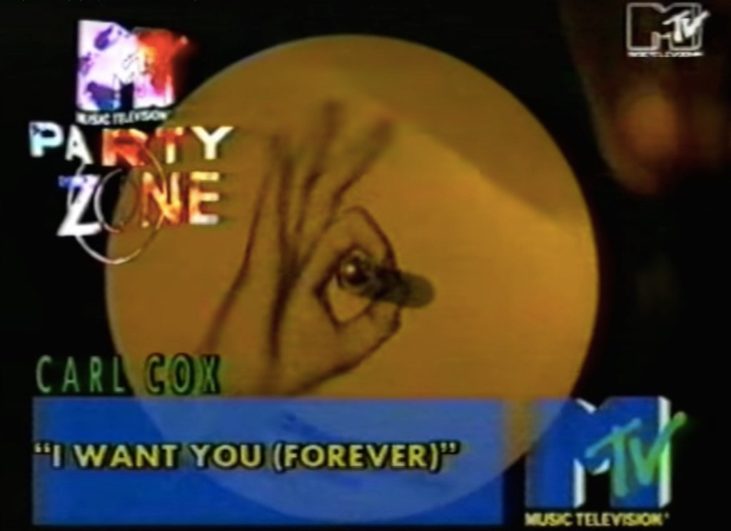 This video for Carl Cox's I Want You (Forever) is so 1991 it hurts…