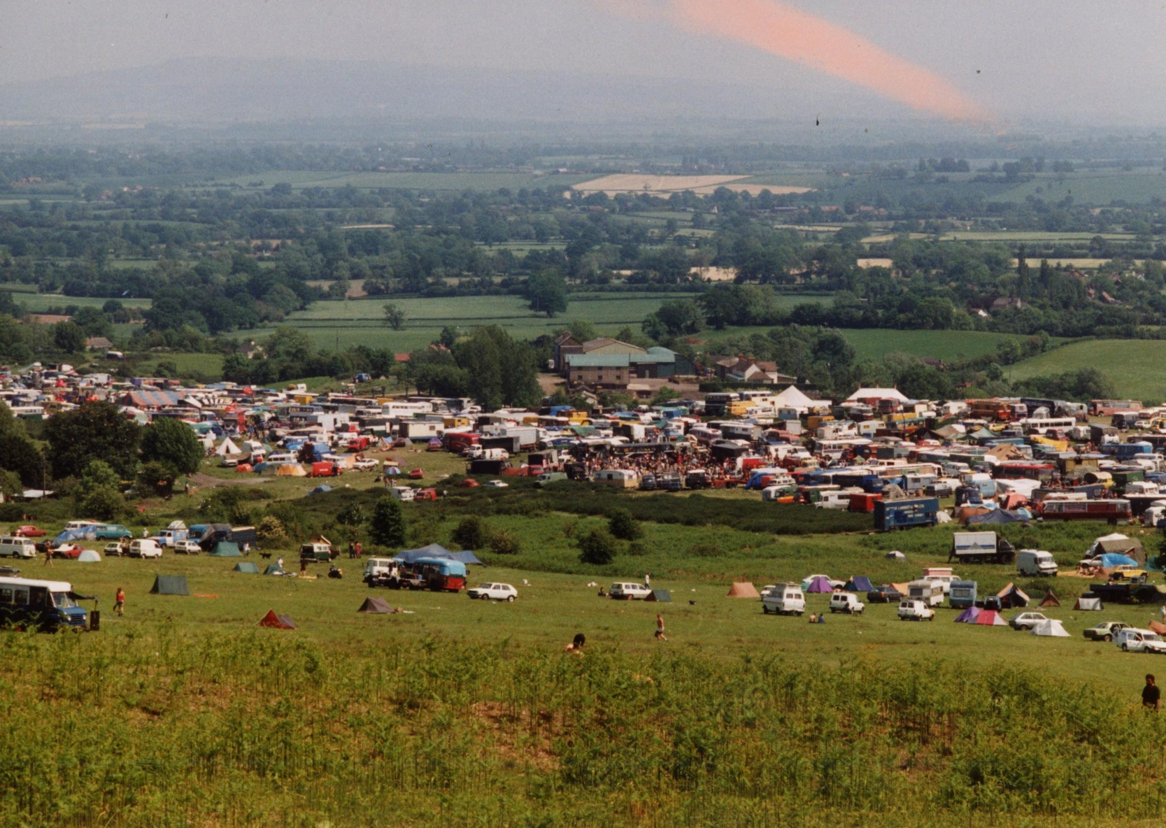 The Castlemorton Common Festival kicked off on this day in