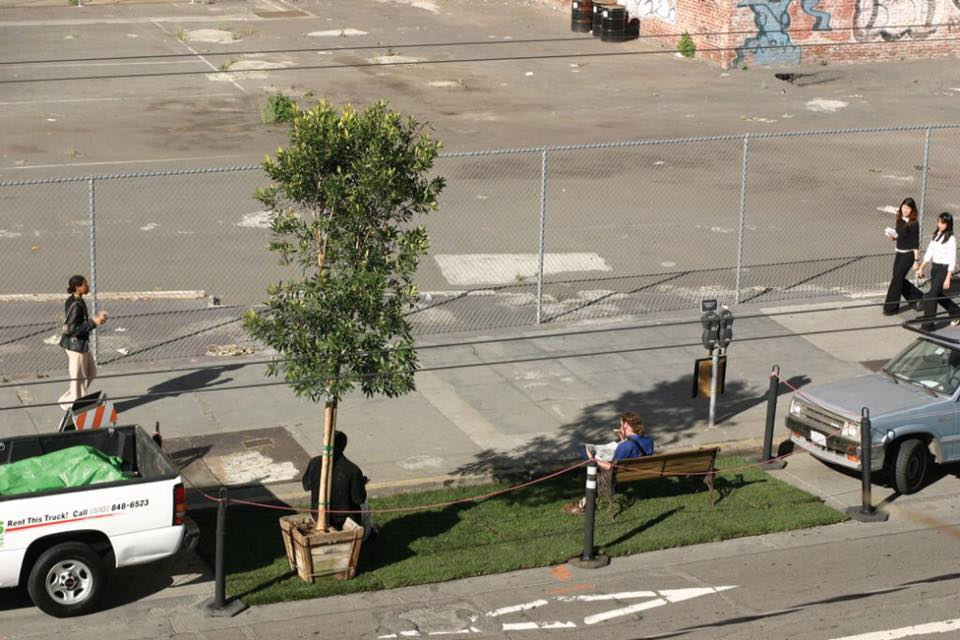 PARK(ing) Project por REBAR, San Francisco, California, Estados Unidos, 2005