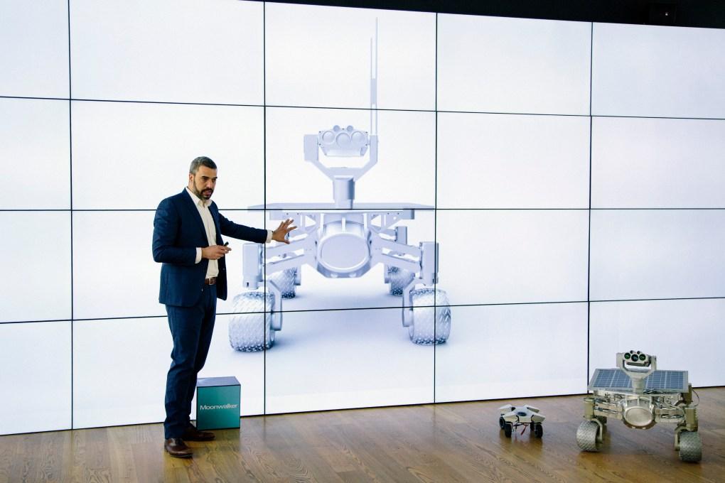 Jorge Diez, diseñador de Audi Design Concept, presenta el Audi Lunar Quatro