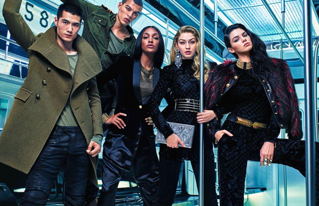 Balmain H&M Campaign