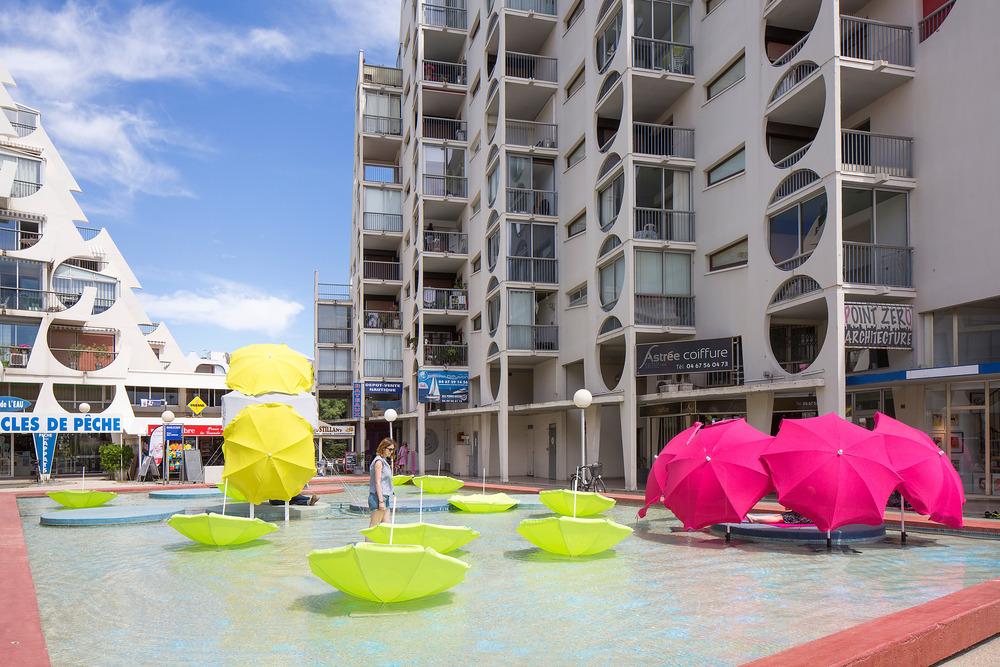 Where is my beach umbrella M³ - Mathilde Guihaumé, Marion Salagnac y Magali Courias Foto: Paul KOZLOWSKI
