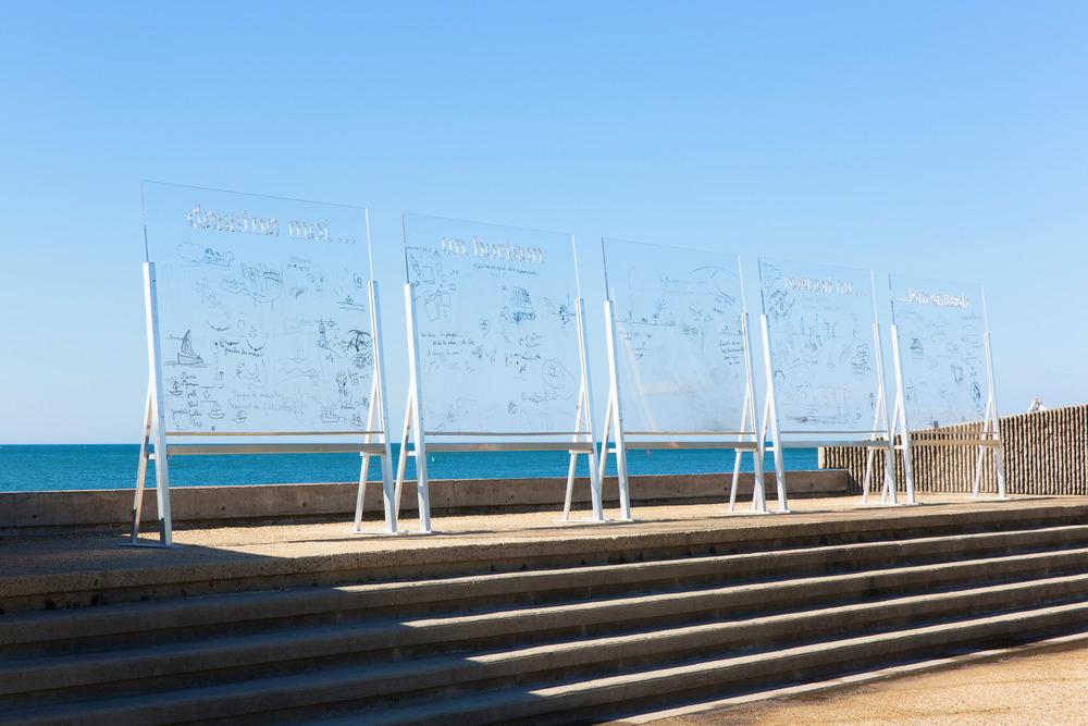 Dessine moi un horizon L'Atelier Sauvage - Mélanie Metier y Chloé Mariey Foto: Paul KOZLOWSKI