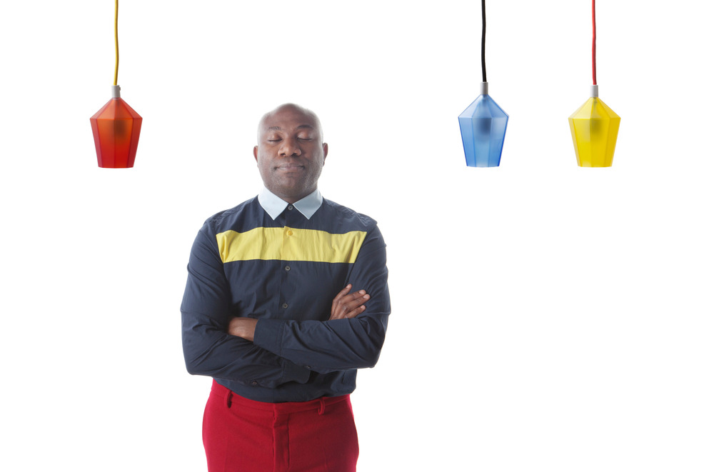 Lincoln Kayiwa, diseñador. Foto: KAYIWA