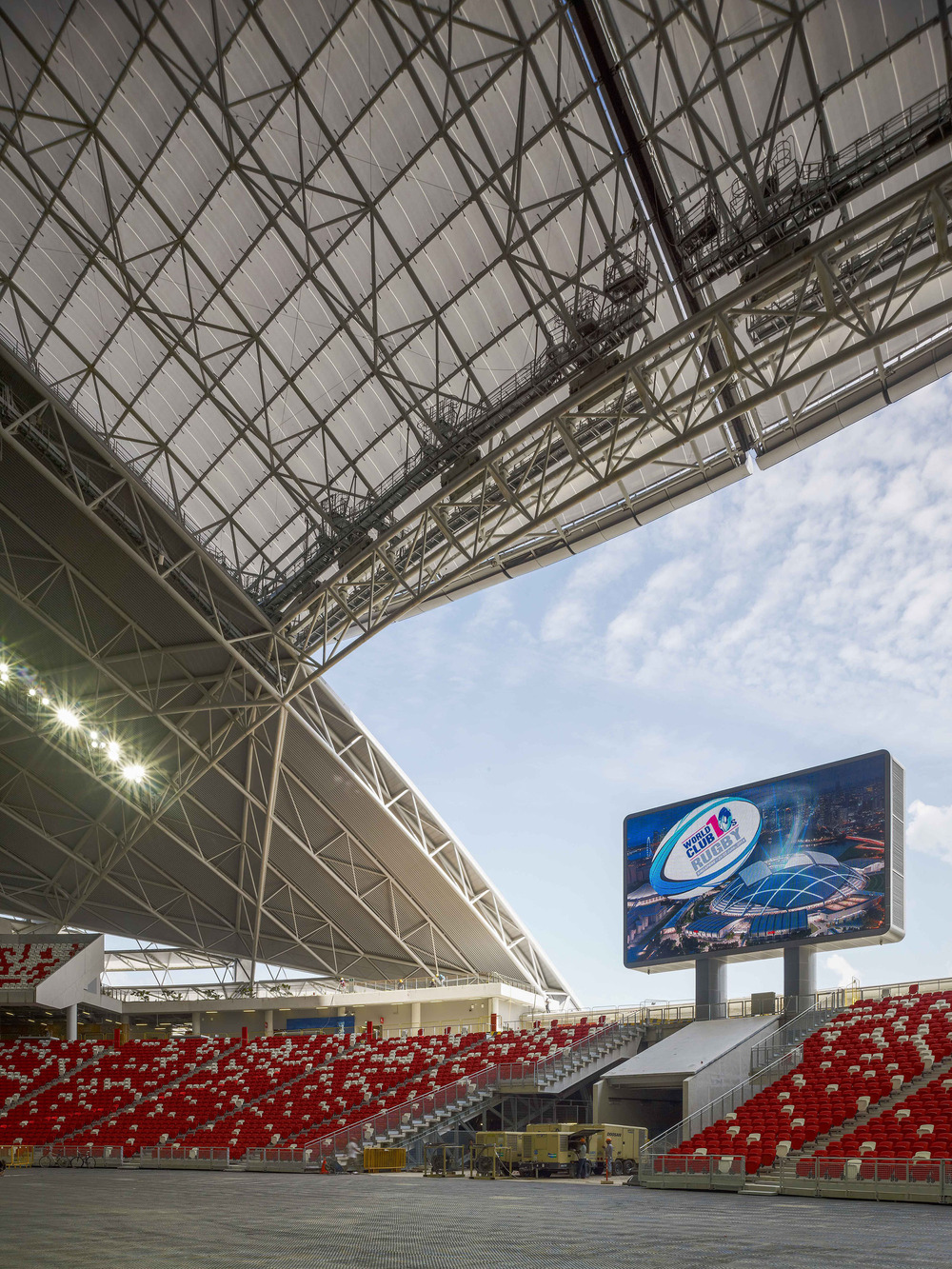 Funcionalidad deportiva de nivel elite así como el uso diario son claves para el diseño del nuevo Estadio Nacional. Foto: Christian Richters