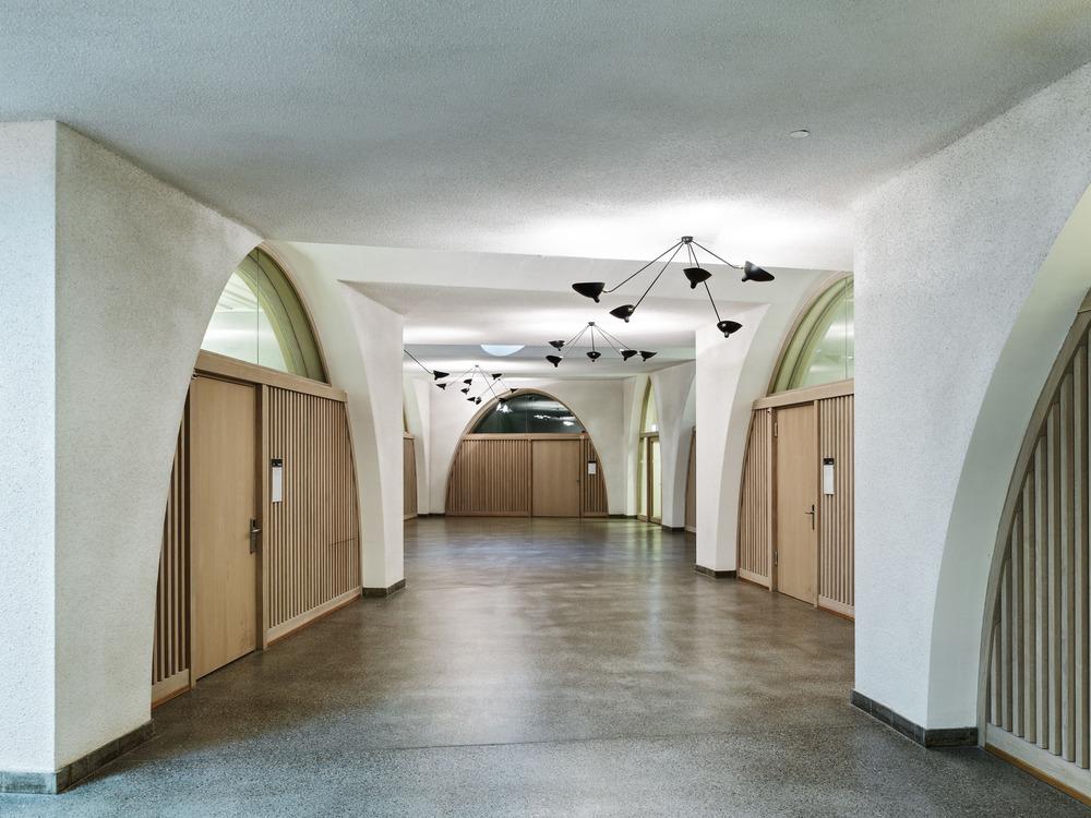 Nivel sótano. Diseño: Buol & Zünd Foto: Georg Aerni