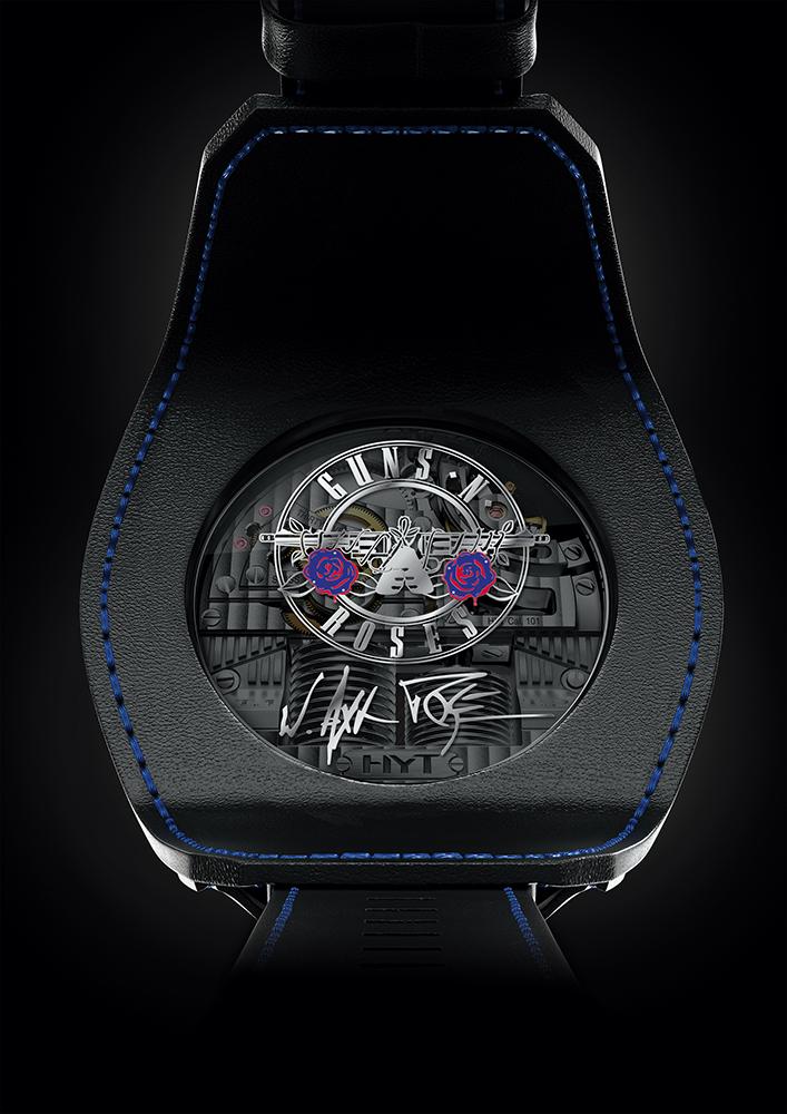 Dorso del Skull Axl Rose. Cortesía de HYT Watches