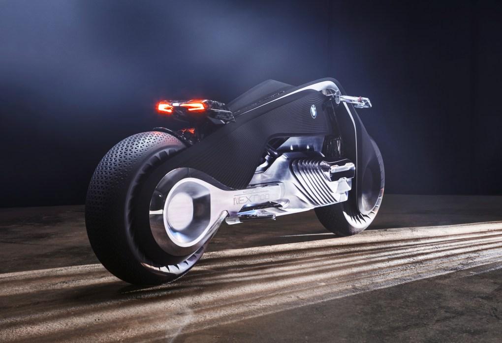 BMW Motorrad VISION NEXT 100. Foto: BMW Group