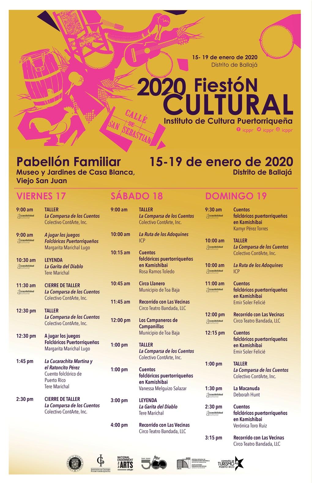 Fiestón Cultural 2020
