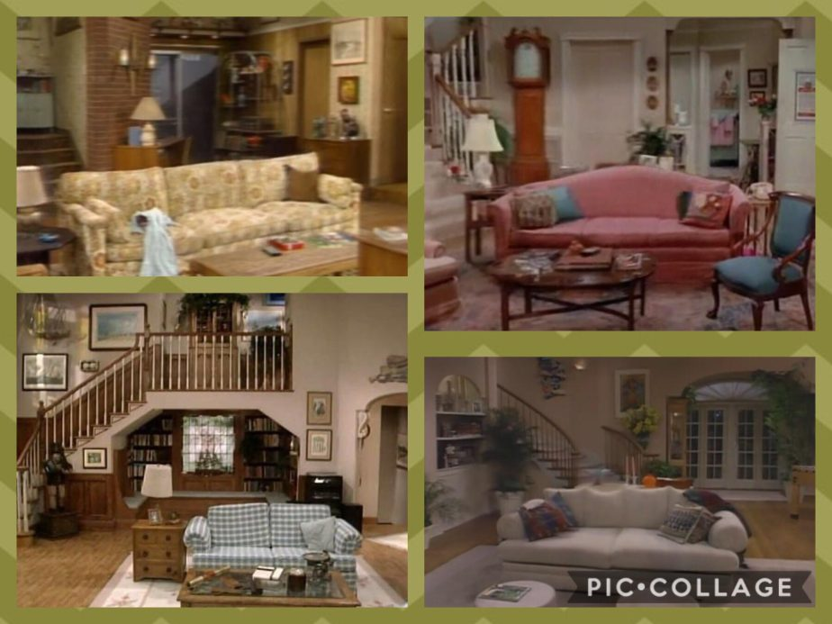 90s Sitcom Living Rooms - 90kids - Childhood Nostalgia on 90 Room  id=52307
