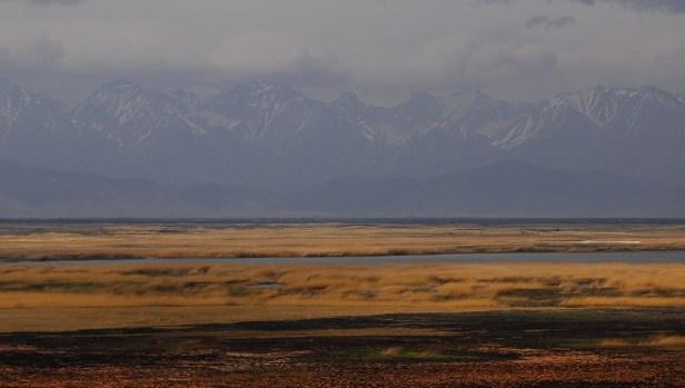 Die westlichen Gipfel des Bargusin-Tals