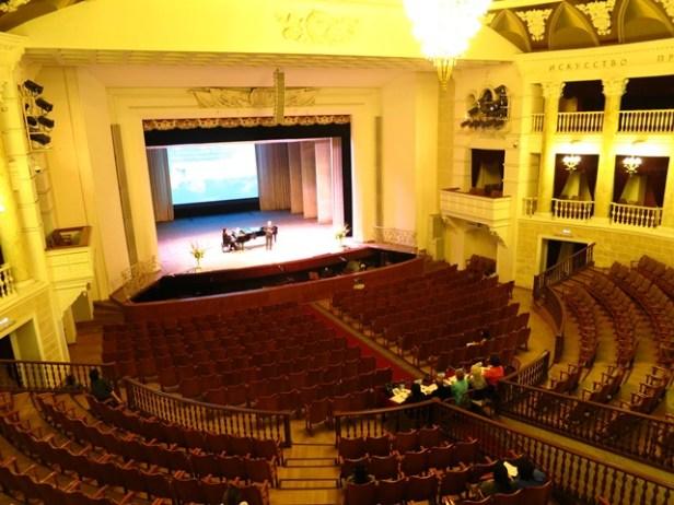 Gesangswettbewerb im Opernhaus von Ulan-Ude