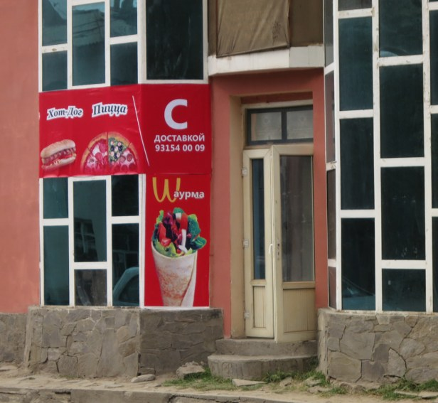 Fast Food Kette made in Tadschikistan
