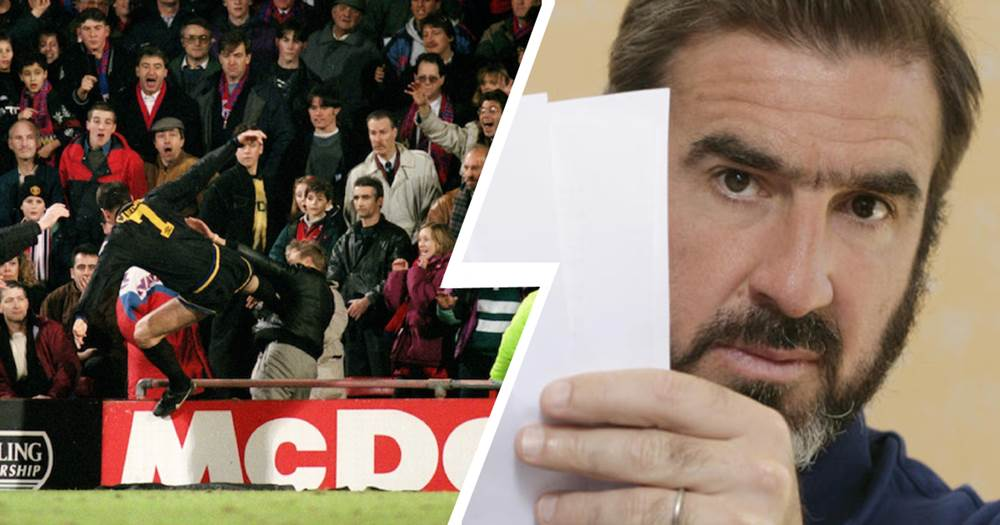 Cantona followed the kick with a series of punches. Eric Cantona Regrets Only One Thing About The Iconic Kung Fu Kick I Should Have Hit Him Harder Tribuna Com