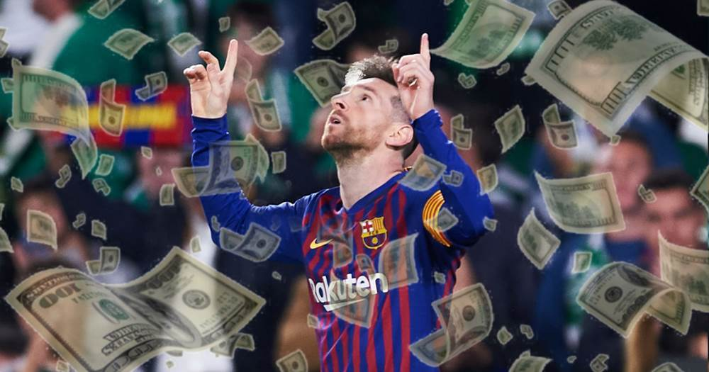 How much money does Leo Messi make in a week? - Tribuna.com