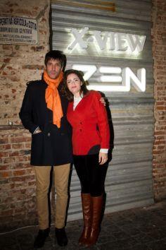 Juan Cruz Bordeu y Romina Ricci