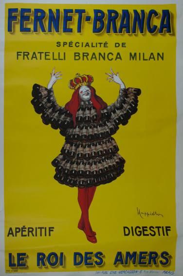 Leonetto Capiello Fernet Branca Poster