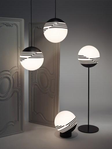 Lámparas Optical de Lee Broom