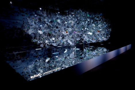 Amorphous installation. Foto: Akihide Mishima