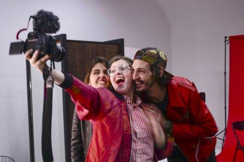 Evelyn Sol, Paul Fava y Josefina Fogel Nuñez. Foto: Adri Godis