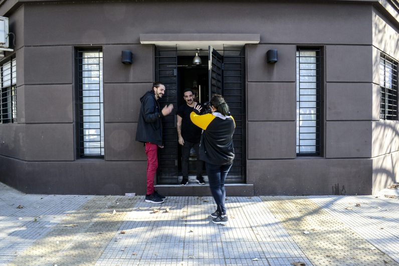 Paul Fava, NASA y Josefina Fogel Nuñez. Foto: Adri Godis