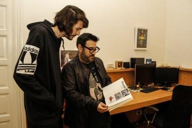 Paul Fava y Javier Lourenco. Foto: Adri Godis