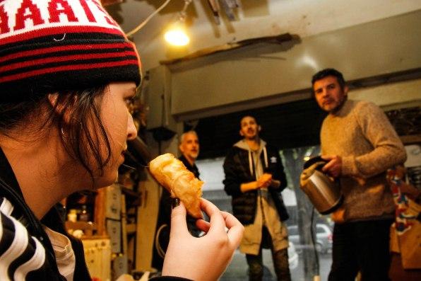 Josefina Fogel Nuñez, Gonzalo Fargas, Sasha y Paul Fava. Foto: Adri Godis