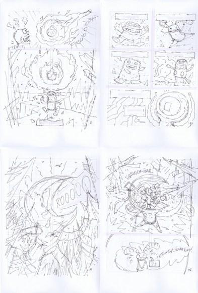 Bocetos Bosquenegro