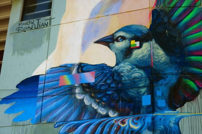 Mural de Martín Ron