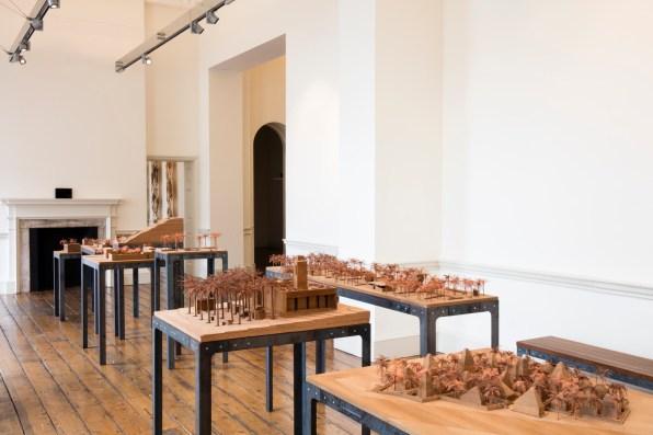 1º London Design Biennale. Instalación UK. Instalación Emiratos Árabes Unidos. Foto: Ed Reeve