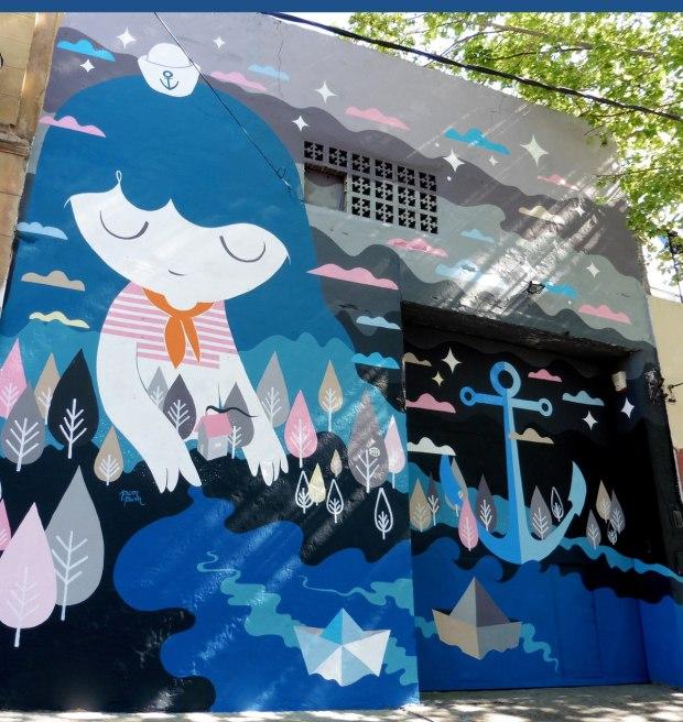 Pum Pum - Mural en La Boca - Festival Color BA