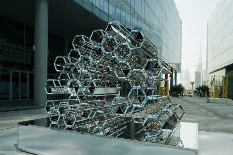 Instalación Kaleidoscopic de Zeinab Al Hashemi para Swarovski