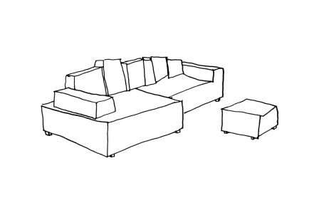 Something Like This Sofa by Maarten Baas