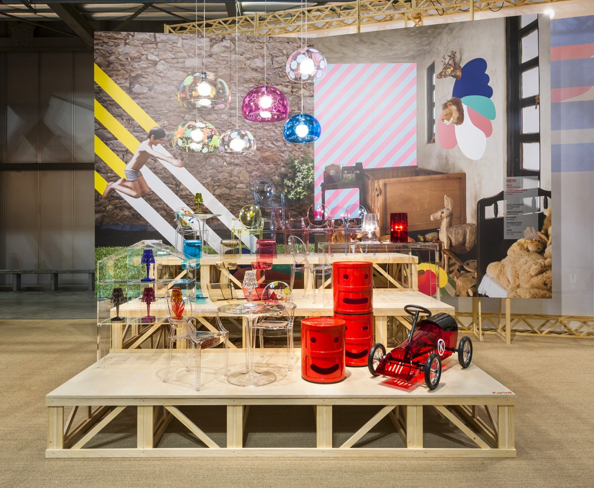 Kartell- Salone del Mobile 2017 - ContamiNation