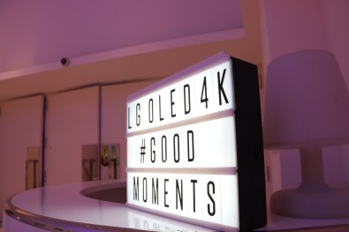 Evento LG #GoodMoments. Foto: Adri Godis